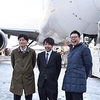 写真:松村さん、村口さん、加藤さん
